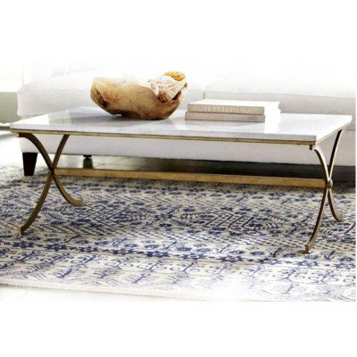 Brass and Marble Coffee Table picture 2
