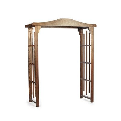 Cape Winds Stained Wood Lattice Arch picture 1