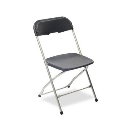 Charcoal Alloyfold Folding Chair picture 1