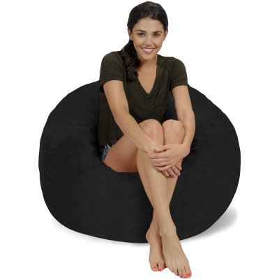 Charcoal Bean Bag Chair picture 1