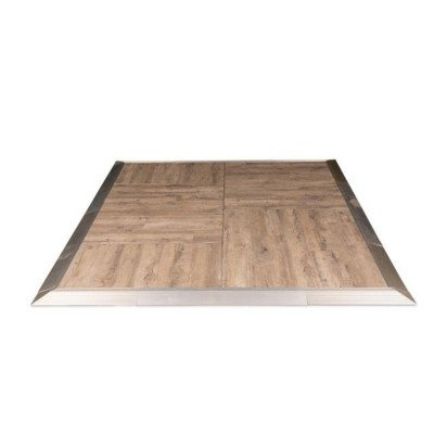 Dancefloor 9' x 9' Distressed Oak picture 1