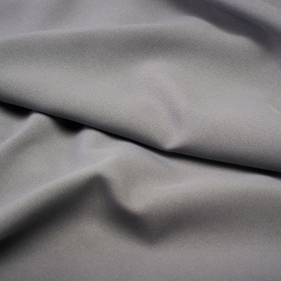 108 inch Round Charcoal Poly Tablecloth picture 1