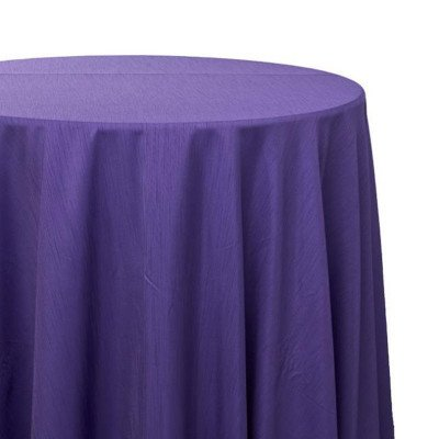 108 inch Round Purple Majestic Tablecloth picture 1