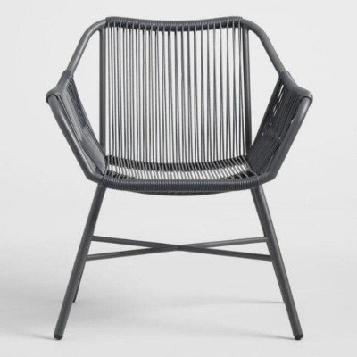 Gray String Patio Chair picture 1