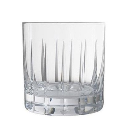 12.5 ounce Etched Rocks Glass Rack of 25 picture 1
