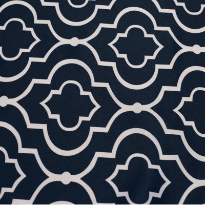 Navy Blue Gatsby Satin Napkin Pack of 12 picture 1