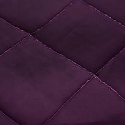 120 inch Round Plum Pintuck Tablecloth picture 1