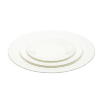 Plain White Dinnerware Pattern - Salad Plate 20 per rack picture 1