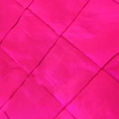 120 inch Round Raspberry Pintuck Tablecloth picture 1