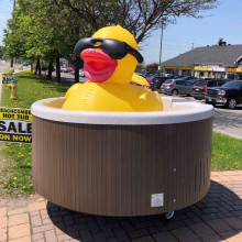 giant inflatable rubber ducky
