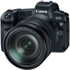 camera with 24-105mm lens