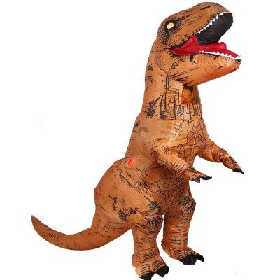 t-rex dinosaur inflatable costume picture 1