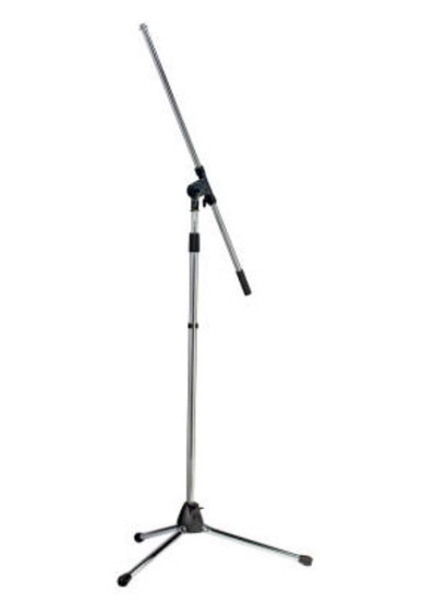 CHROME MIC STAND
