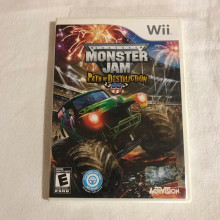 Monster jam - path of destruction - Nintendo Wii game