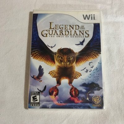 legend of the guardians - nintendo wii game