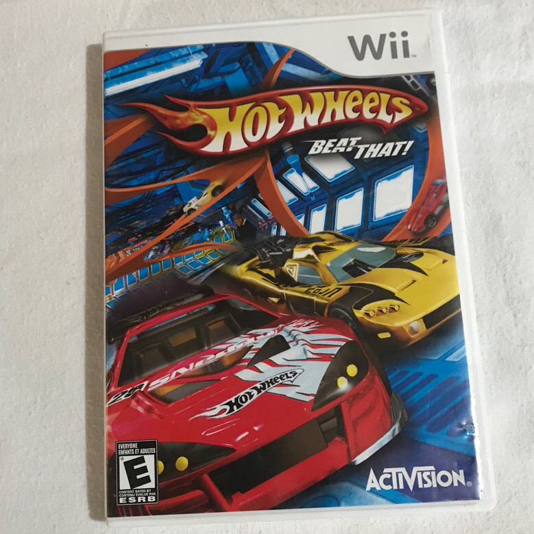 Hot wheels beat that - Nintendo Wii game