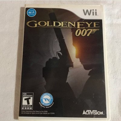 goldeneye 007- nintendo wii game