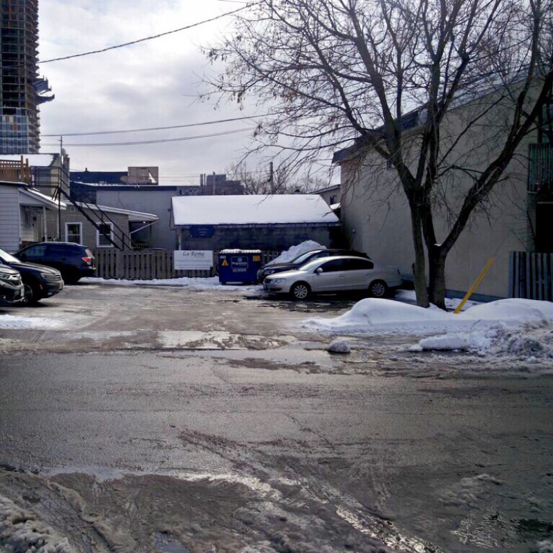 Parking spaces - Preston and Norman street