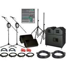 Stage or band show setup 4 piece - Entertainment package