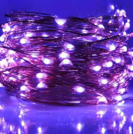 led fairy lights - string lights - 36'