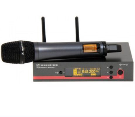 Wireless Mic with Receiver, handheld