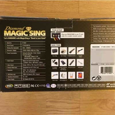 karaoke machine- magic sing-1