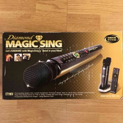 karaoke machine- magic sing