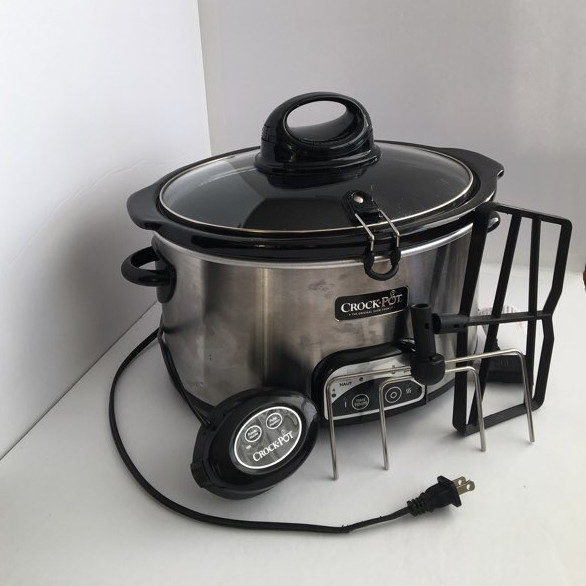 Programmable slow cooker- crock pot