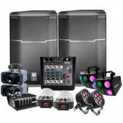 Sound and lighting package - with dj