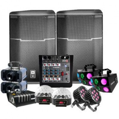 sound and lighting package - with dj-1