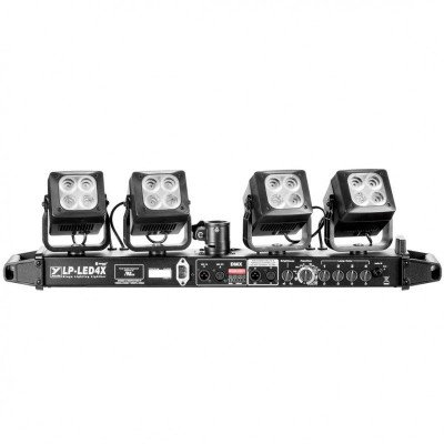 yorkville led-4's stage lighting