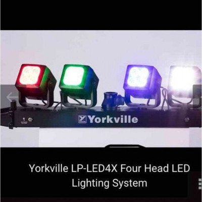 yorkville led-4's stage lighting-1