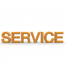 Service charge - delivery, setup and more!
