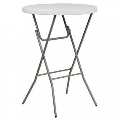 """cocktail table - round high - 32"""" - plastic"""