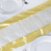 Yellow – Table Runner - Embroider