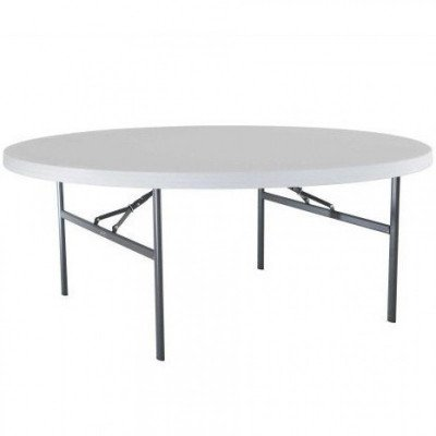 """table round - 60"""" wide x 30"""" high"""