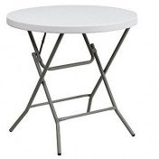 "Cocktail Table – Round Low - 32"" – Plastic"