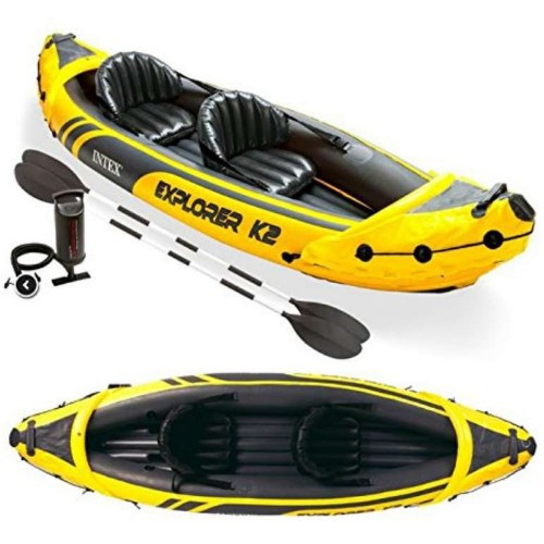 inflatable 2 person kayak