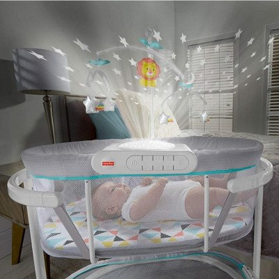 soothing motions bassinet-3