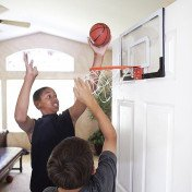 mini basketball hoop with ball