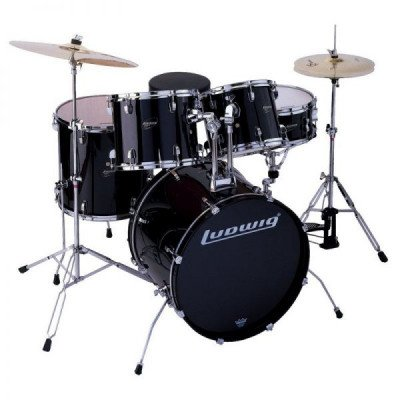 ludwig accent drive 5-piece drum kit