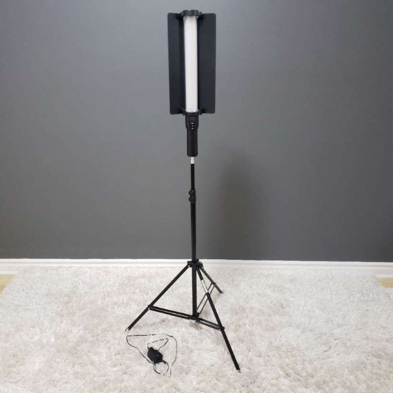 led light stick and 6 foot light stand-2