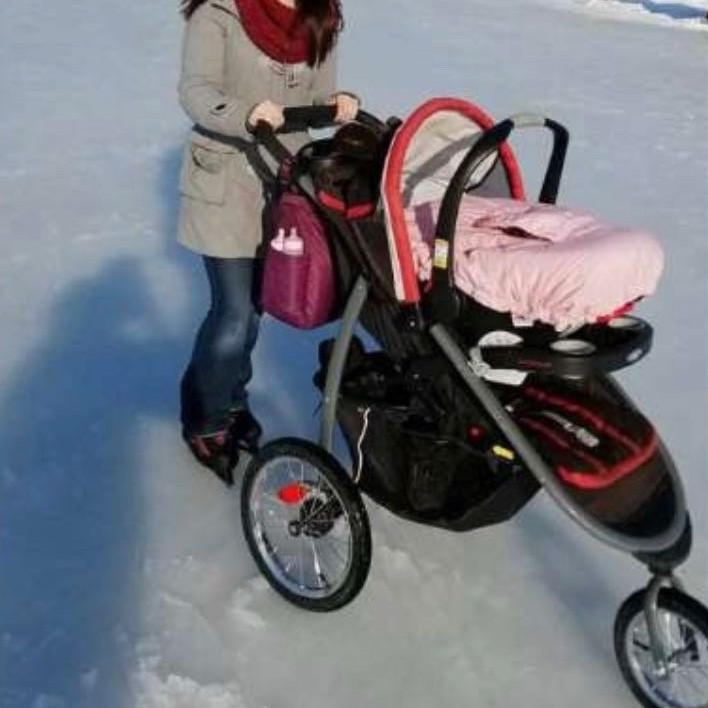 Graco click connect jogger stroller