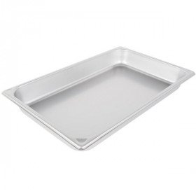 "Full size pan 2.5"" for Steam Table, or chafer"