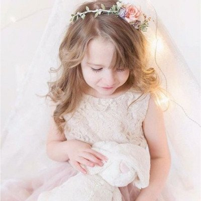 Blush dress for child 6-8 years picture 2