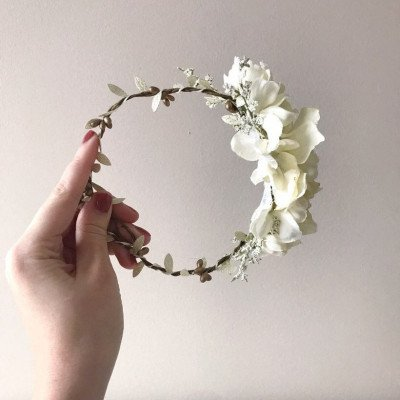 2 floral crowns - photography prop-2
