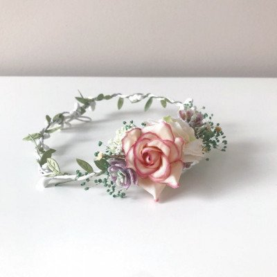 2 floral crowns - photography prop-3