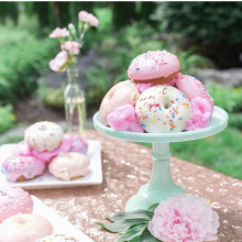 Cake stand photo prop