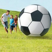giant inflatable soccerball