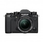fujifilm x-t3 black camera